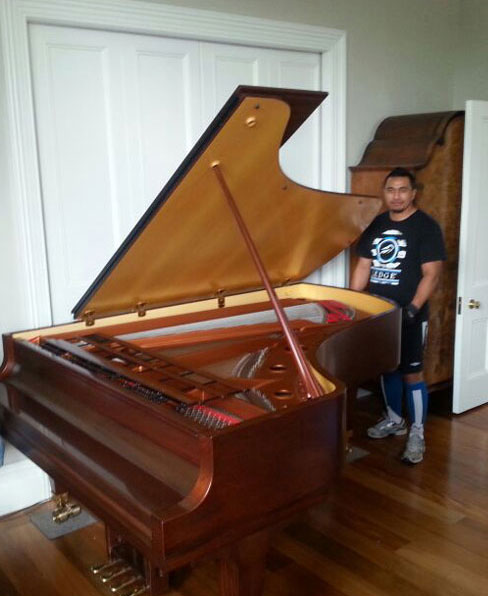 Ready to move a piano in Auckland